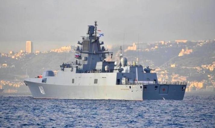 Russian naval fleet made a 3-day technical stop at an Algerian port.