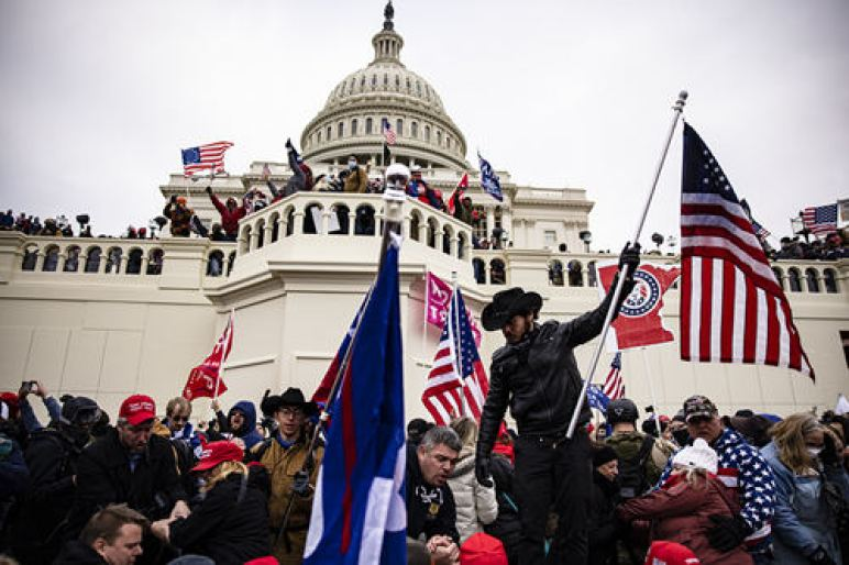 """""""A day to shake the country"""", what happened to American democracy?"""
