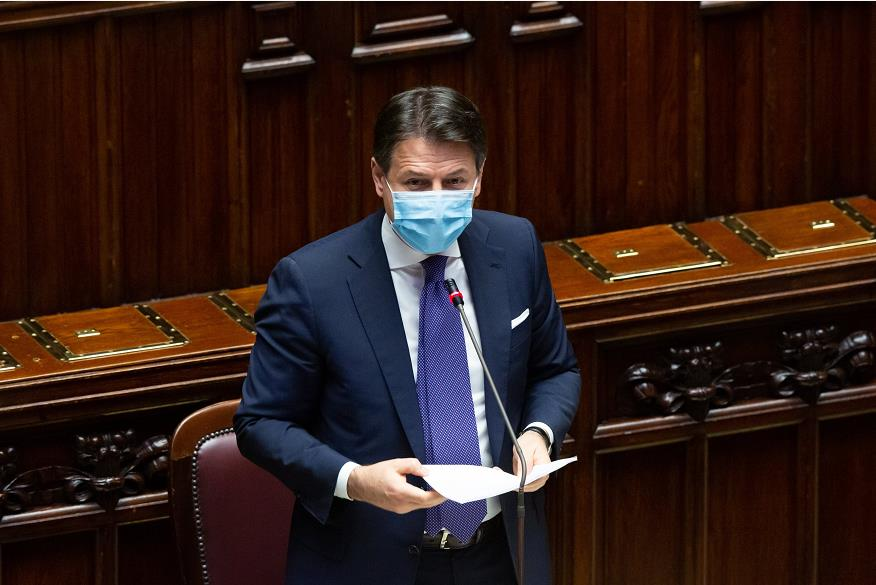 Italian Prime Minister Conte won the vote of confidence in the House of Representatives.