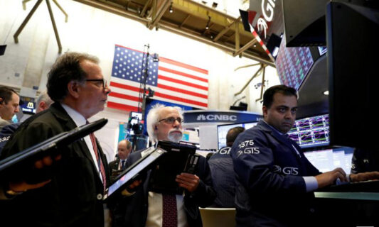U.S. stocks hit a record high due to the progress of the economic rescue bill.