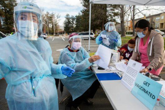 The United States has found 5,800 people infected with the coronavirus after vaccination