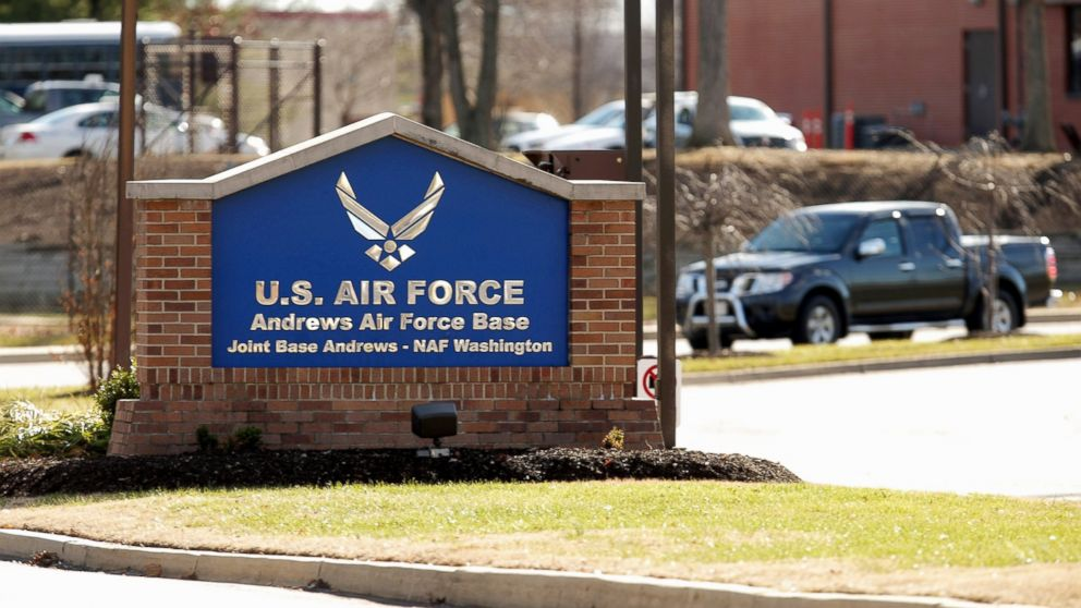 The U.S. Air Force launched an investigation into the base where the U.S. President's special plane was located was intruded.