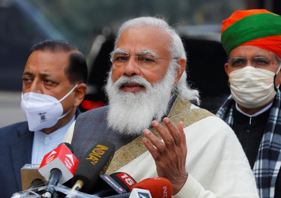 India protests against farmers shouting Modi: Don't just talk empty words, prepare for negotiations
