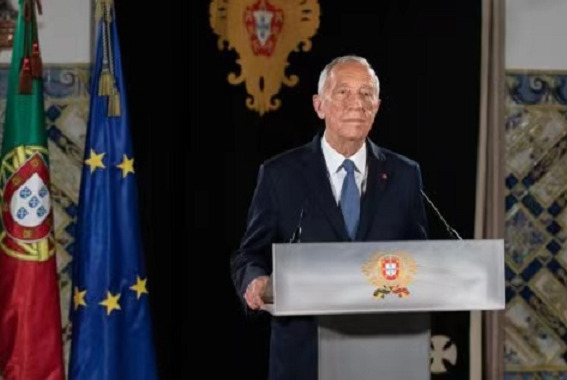 Portuguese President De Sousa has been vaccinated with the first dose of coronavirus vaccine.