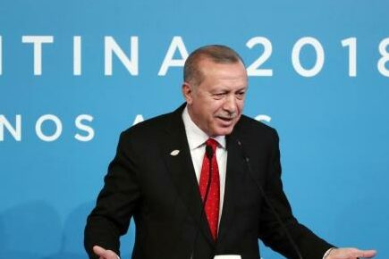 """Erdogan: Turkey and the United States have more common interests than differences, and expect a """"win-win"""" with the Biden administration."""