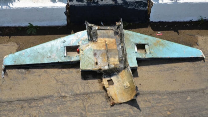 The multinational coalition led by Saudi Arabia shot down four drones carrying explosives in a row.