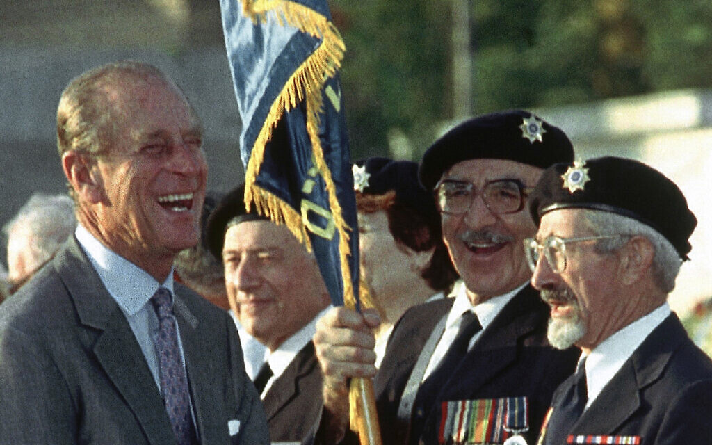 Israeli leader issued a message to pay tribute to Prince Philip of Britain.