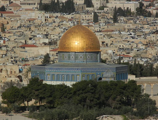 Clashes broke out between Israeli police and Palestinians on the Temple Mount in Jerusalem