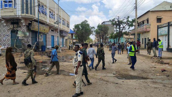 Suicide attack in Baidoa city, Somalia, killing at least 4 people