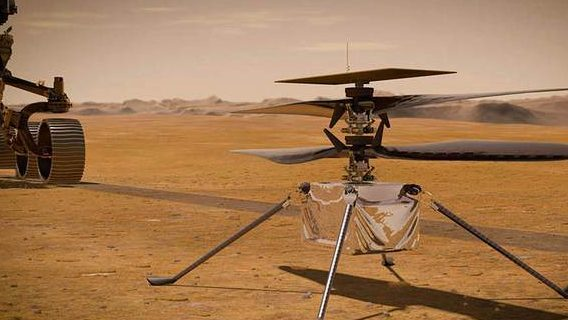 U.S. Mars helicopter postponed its first flight due to potential technical problems