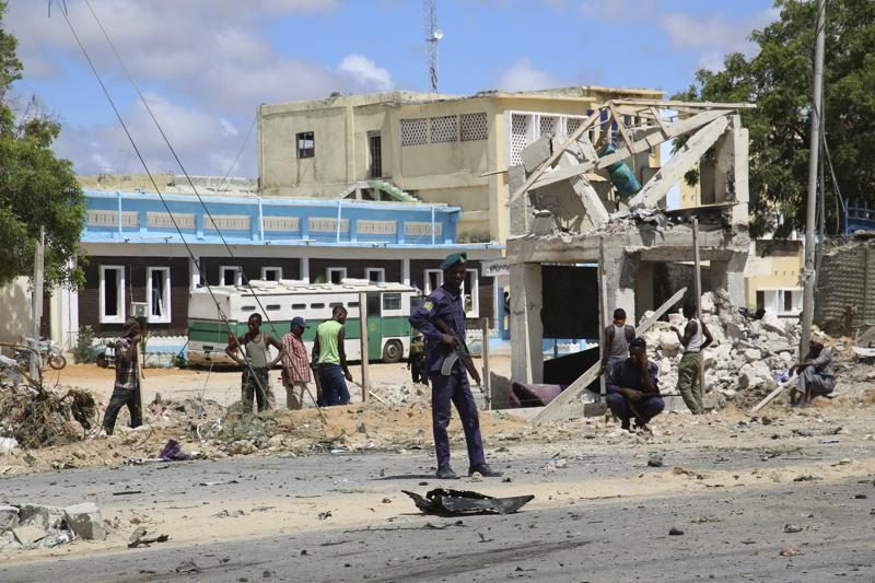 At least seven people have been killed in a car bombing in Somalia's capital