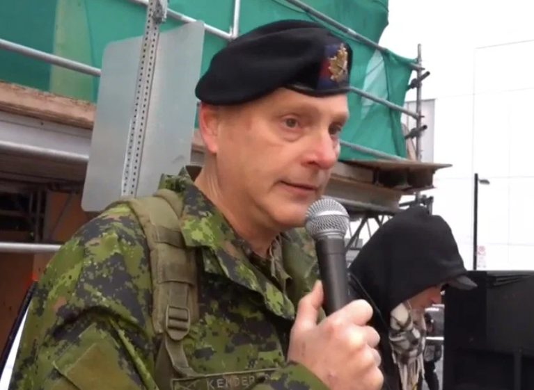 Canadian officers have called on soldiers not to get the Coronavirus vaccine and have been accused of rebellion