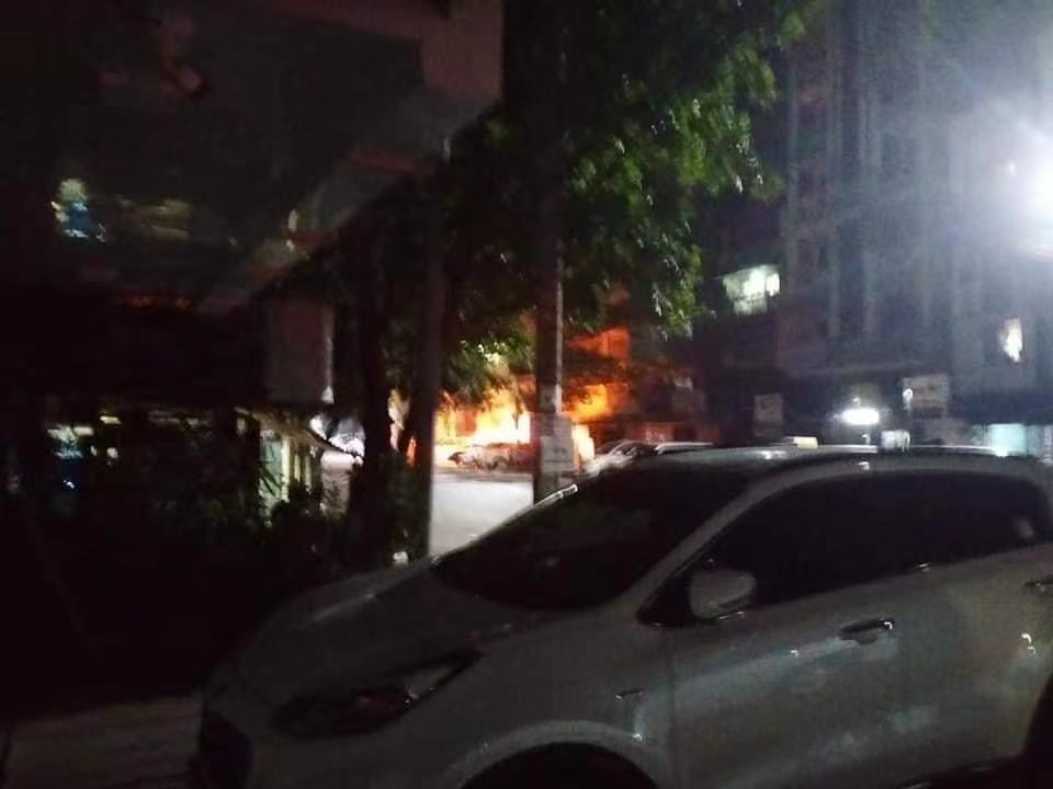 There were two explosions in Yangon, Myanmar, and there were no casualties