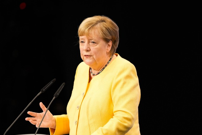 The German election was soon before Merkel reiterated her support for the candidate for chancellor, Rashet