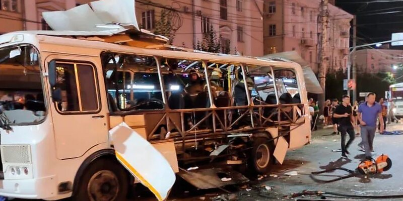 The main cause of the bus explosion in the Russian city of Voronezh was a mechanical failure