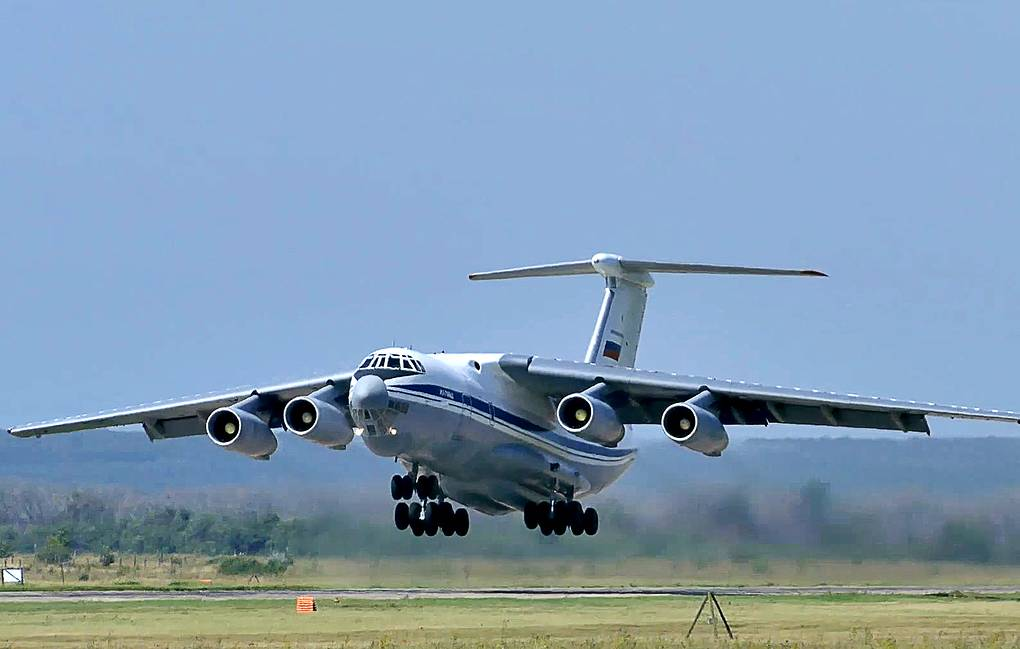 Four Russian military aircraft arrived in Moscow carrying many of the citizens who had left Afghanistan