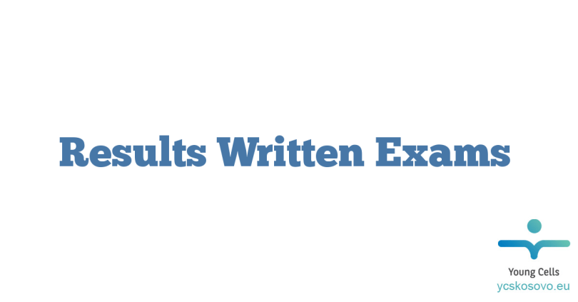 Results Written Exams