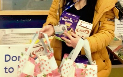 Tesco Donates Chocolate Eggs