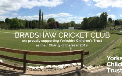 Bradshaw Cricket Club Support YCT