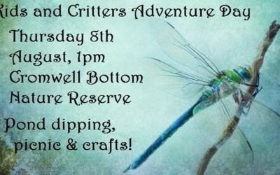 Kids & Critter Day tomorrow!