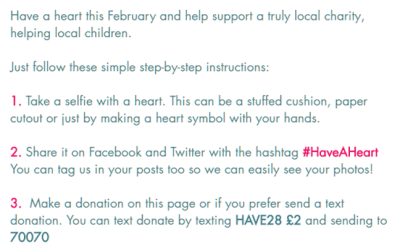 #HaveAHeart this February