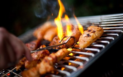 BBQ makes a sizzling donation