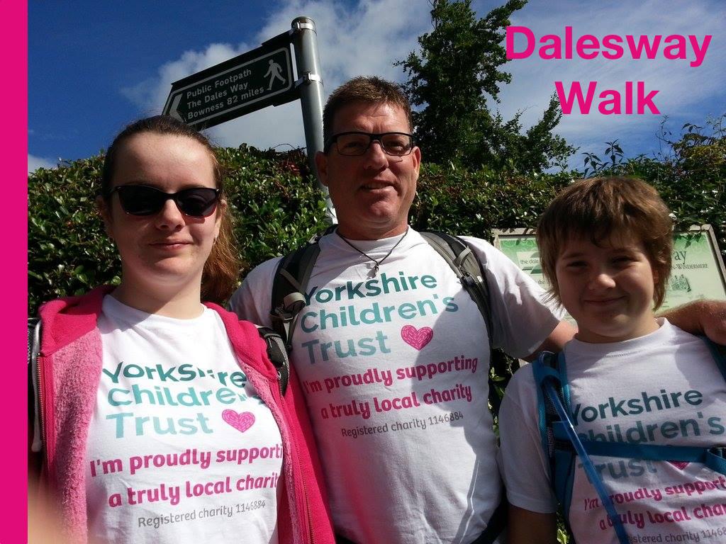 Dalesway Walk for Yorkshire Children's Trust