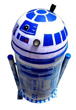 Proceso de creación de papelera a R2