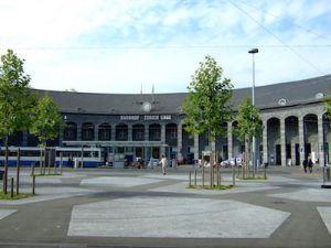 Bild vom Bahnhof Enge