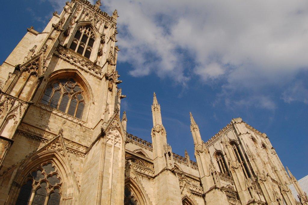 York Minster on a sunny day