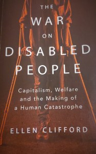 The War on Disabled People by Ellen Clifford, paperback cover