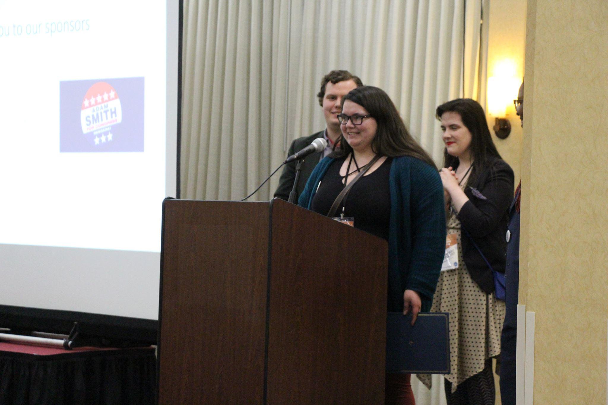 Young Democrat of the Year 2018 winner Emily Provencio