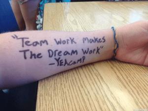 dream work thank you