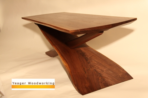 http yeagerwoodworking com blog 2013 01 14 cantilever table in black walnut