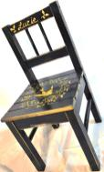 Personalized chair with kids' name