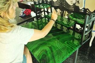 Painting, epoxy coating & varnishing