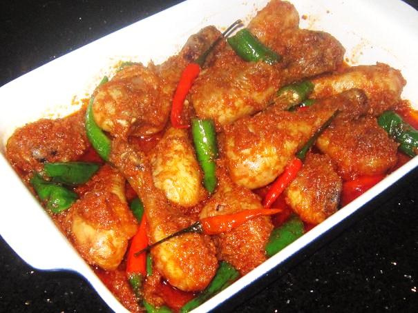 (9) Spicy Sambal Chicken Drumsticks