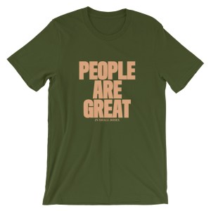 People are great (in small doses).