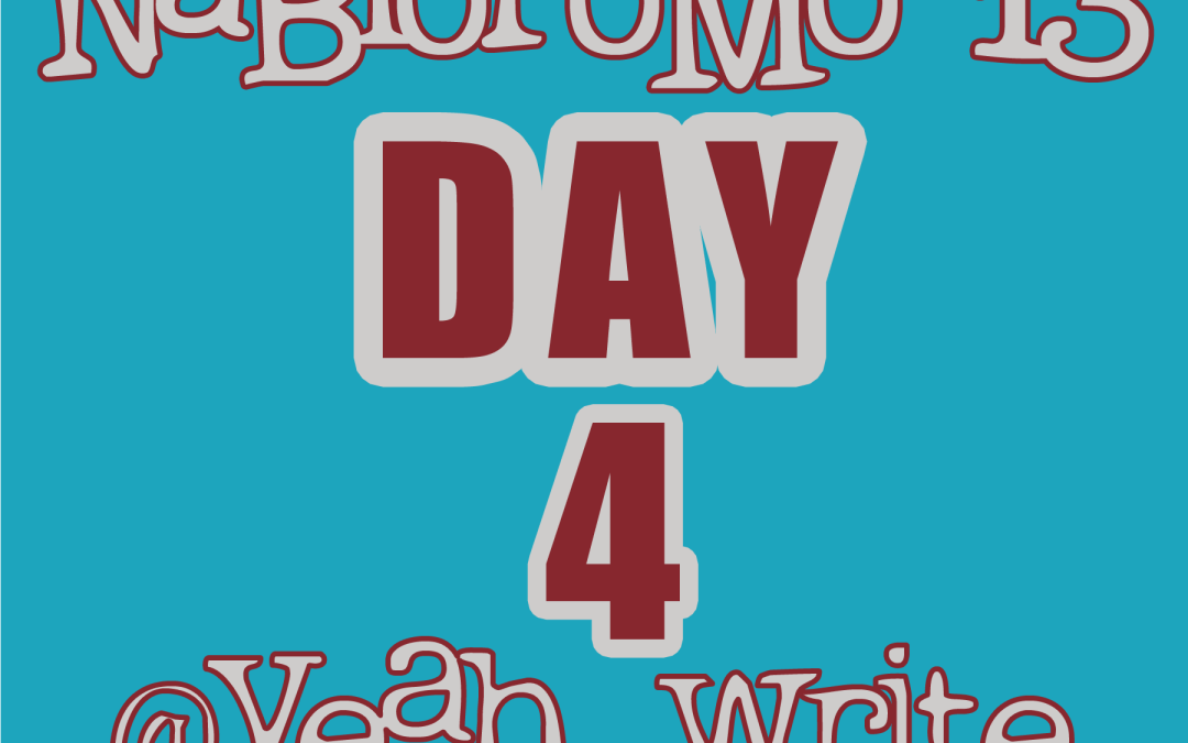 BlogHer's NaBloPoMo at yeah write: Day 4—madman with a pen