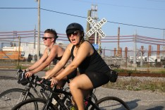 KDHL, pictured, wrote a great recap of the first ride in 2013: http://bit.ly/1MoS8SN
