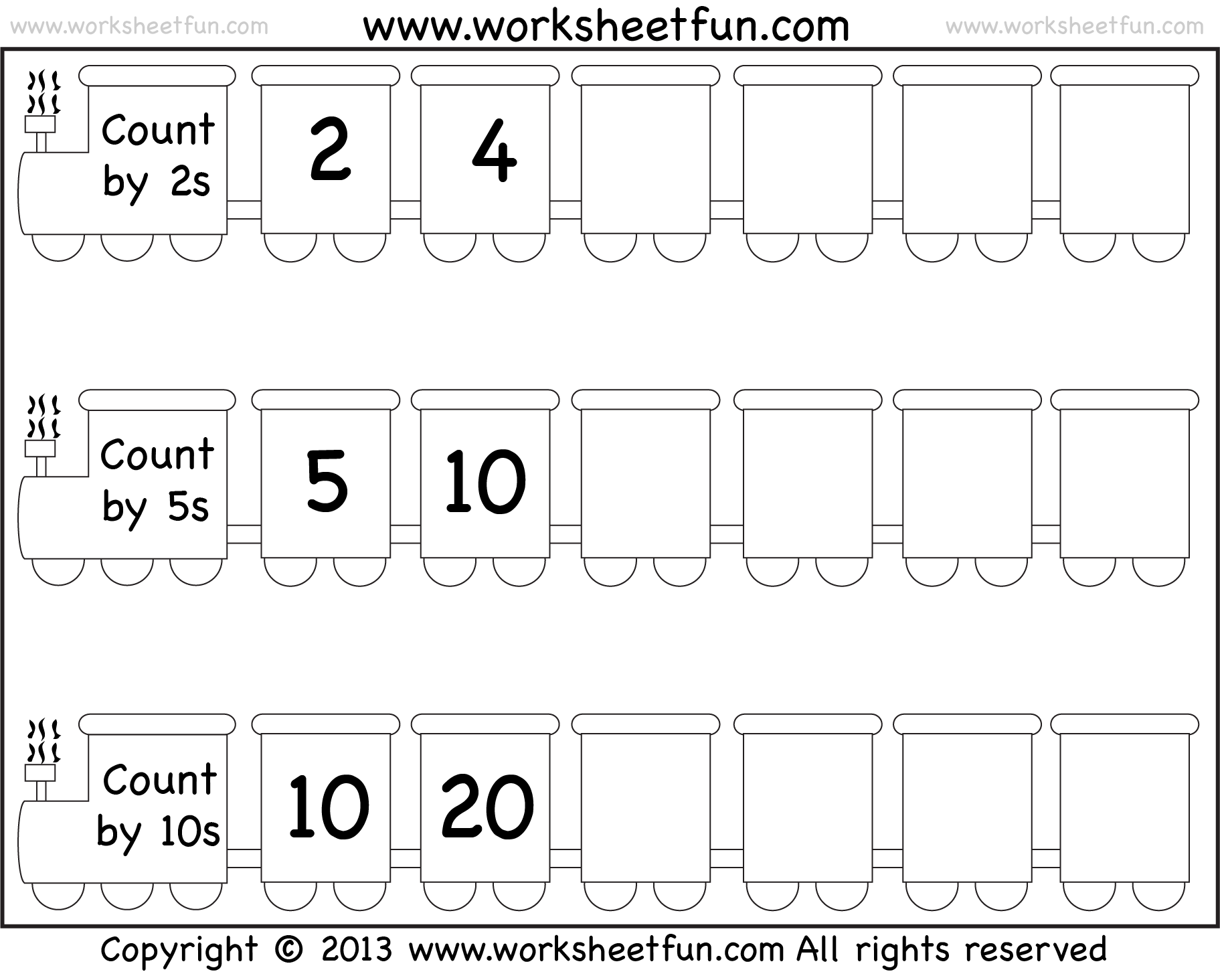 Can You Confidently Count In 2 S 5 S And 10 S Holbrook Primary