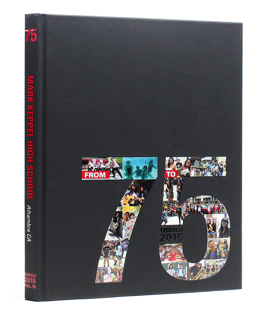 Cover Graduation Yearbook