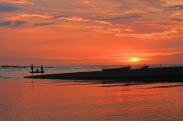 November 28, 2012: Sunset in Nosara