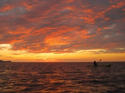 Sunset Kayak 2