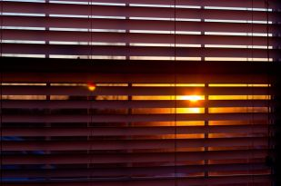 April 15, 2013: Sun in Blinds