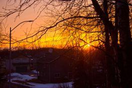 April 22, 2013: Sunset 1