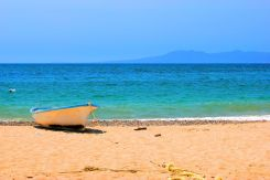 May 12, 2013: Boat on Beach