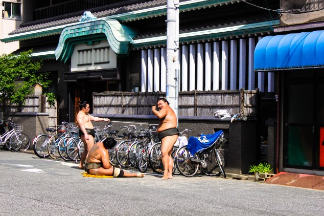 Sumo Wrestlers 11 Post Edit