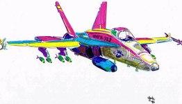 F/A-18 Hornet 10x8 / 1997