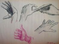 Hands 30x20 / 1988